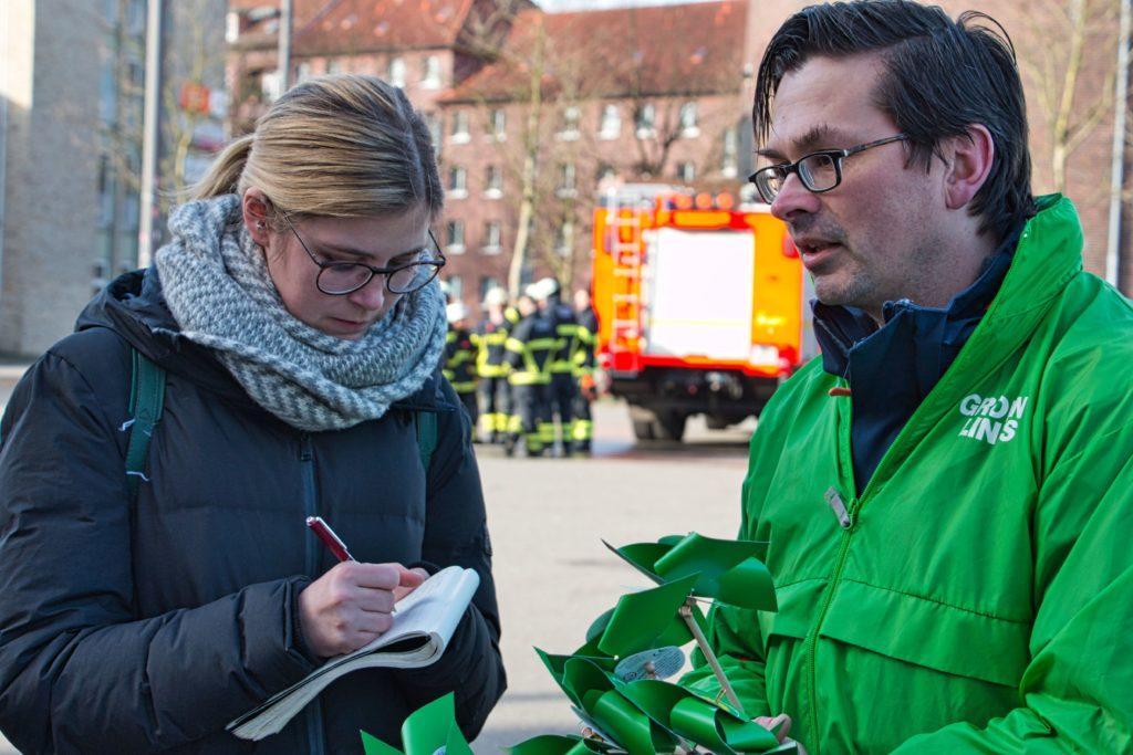 Benni wordt geinterviewd door Der Spiegel